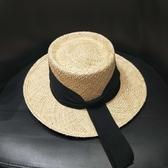 草帽-遮陽時尚有型海邊渡假女帽子73ti18【時尚巴黎】