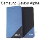 【Xmart】磨砂側掀皮套 Samsung Galaxy Alpha G850Y