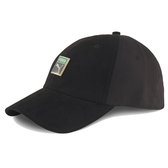 PUMA 黑 棒球帽 老帽 黑 鐵LOGO標 後金調整扣 男女皆可戴 (布魯克林) 02284101