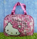 【震撼精品百貨】Hello Kitty 凱蒂貓~透明防水手提袋~粉櫻桃【共1款】