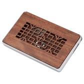 教師節禮物名片盒木質名片夾 商務時尚實用男女士特色個性定