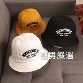 降價最後兩天-男童帽寶寶帽子春秋薄款男童漁夫帽1-3歲2兒童遮陽防曬帽0小女孩4潮夏季3色
