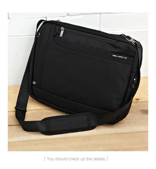 DF BAGSCHOOL - RUFA美式專業實用防水多夾層筆電2用側背包