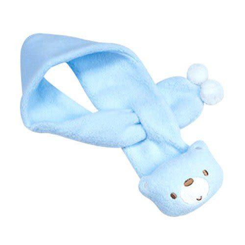 【奇買親子購物網】艾比熊小綿羊布圍巾