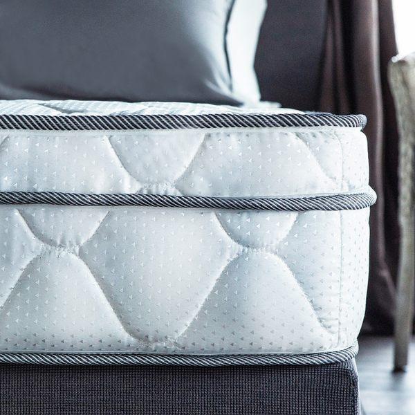 雙人床墊 Julia三線3M防潑水蜂巢獨立筒床墊[雙人5×6.2尺]【DD House】