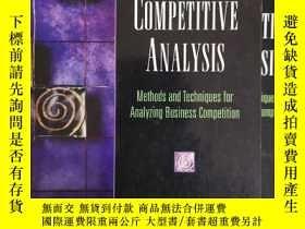 二手書博民逛書店strategic罕見and competitive analysisY330903 craig the mi