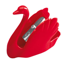【奇奇文具】天鵝牌STABILO 4593 天鵝造型削筆器(紅色)