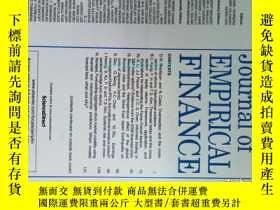 二手書博民逛書店Journal罕見of Empirical Finance 20