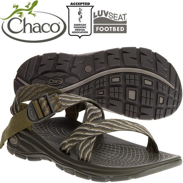Chaco EZM01-HC44橄欖繩索 男冒險旅遊涼鞋-Z/Volv標準款休閒鞋