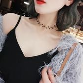 韓版短款簡約個性網紅項圈項鍊女學生森系頸錬鎖骨錬脖子飾品頸帶·享家生活館