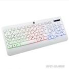 有線鍵盤鍵盤有線電腦筆記本臺式辦公家用外接USB有線鍵盤手感遊戲鍵盤USB介面學習鍵盤