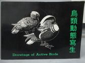 【書寶二手書T3/藝術_YJM】鳥類動態寫生