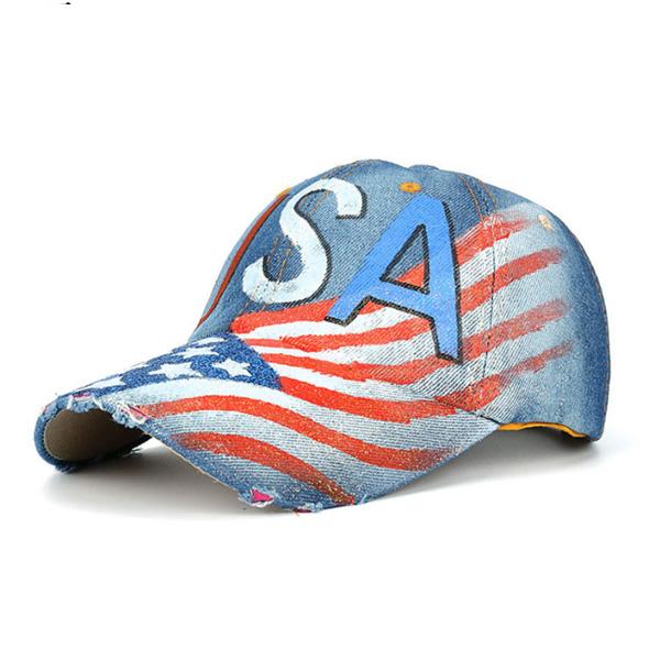 老帽-美式字母棒球帽-2031- J II