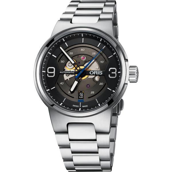 ORIS 豪利時 Williams鏤空日期機械腕表-灰/42mm 0173377164164-0782450