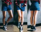 【韓風童品】運動拉毛短襪 男女襪 情侶襪  運動風休閑襪  男短襪  女短襪