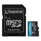 新風尚潮流 【SDCG3/64GB】 金士頓 64GB 手機記憶卡 U3 A2 每秒讀170MB寫70MB