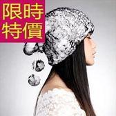 毛帽-針織經典韓版羊毛防寒女帽子6色63w33[巴黎精品]