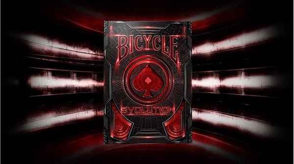 【USPCC 撲克】 S103049085 Bicycle Evolution Deck (Red) by USPCC