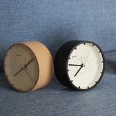 鬧鐘靜音簡約床頭創意北歐風格學生用桌面夜光時鐘小擺件台鐘臥室 四季生活