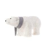 聖誕白熊擺飾18cm