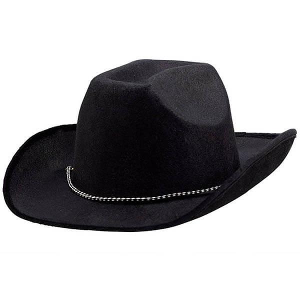 牛仔帽-黑