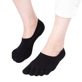 五指襪 五指襪子女男夏季純棉腳趾薄款分指頭五趾襪防臭全棉淺口隱形船襪【快速出貨】