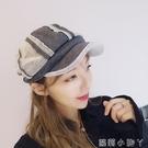 貝雷帽帽子復古休閒男女軟妹鴨舌報童畫家日系八角帽  蘿莉小腳ㄚ