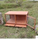 雞舍鳥籠子鴨雞籠雞窩兔舍兔籠寵物屋木質狗窩鴿子籠木制 中號