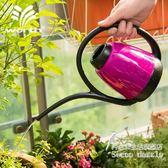 時尚簡約園藝長嘴澆水壺 家用灑水多色  BS19996『科炫3C』