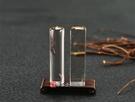 頂級淺色黃水晶(四)臍帶印章《全手工噴砂》六分,正常高度,單章。全配包裝。傳家手工印章