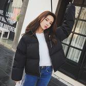 閨蜜 棉衣女面包服短款韓國小棉襖女韓版學生寬鬆bf棉服冬季外套 聖誕節交換禮物