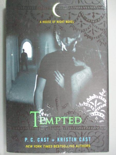 【書寶二手書T3/一般小說_HCB】Tempted: A House of Night Novel_Cast, P. C