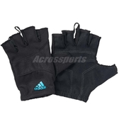 adidas 手套 Essential Glove 黑 藍 男款 【PUMP306】 F49703