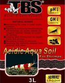 台灣 TBS 翠湖 水晶蝦專用酸性黑土 3L/細顆粒