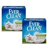 【Ever Clean】藍鑽結塊貓砂-25磅(11.3kg)X2盒-藍標