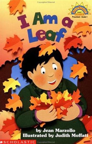 (二手書)Scholastic Reader Level 1: I Am a Leaf