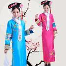 旗袍 清朝古裝女古代公主滿族宮廷貴妃娘娘...