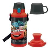 【震撼精品百貨】汽車總動員_Cars~閃電麥坤 CARS 2用塑膠保冷水壺(FKDS4/400ML)28553