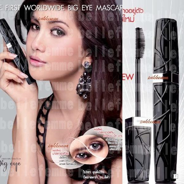泰國 Mistine Pro Long Big Eye 大眼防水纖長睫毛膏 4ml 黑色款【小紅帽美妝】