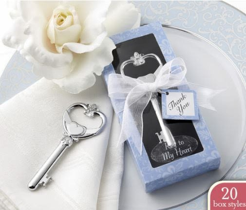 創意婚慶用品婚禮回禮小禮品維多利亞開瓶器紫蘭盒 49元