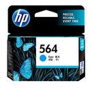 CB318WA HP 564 藍色染料墨...