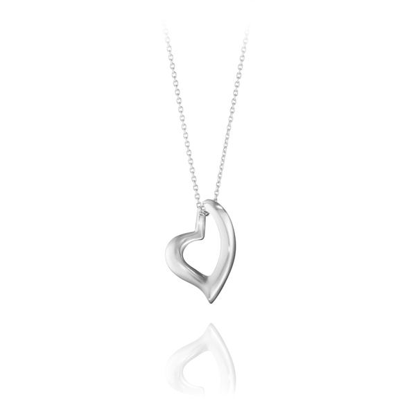 Georg Jensen Jewellery Hearts of Georg Jensen 631 心型系列, 躍動愛情 純銀項鍊『加贈 拭銀布兩份』