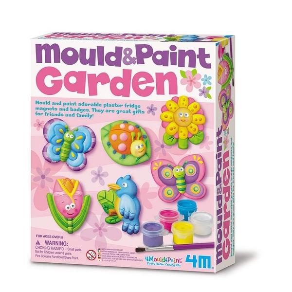 【4M】03512 美勞創意-蝴蝶花園(製作磁鐵) Mould & Paint / Garden