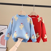 女童毛衣毛衣2020 春秋 中小男童套頭洋氣針織衫長袖上衣小山好物