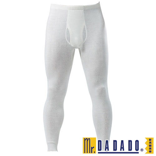 【DADADO】基礎系列M-L保暖褲(素面白)