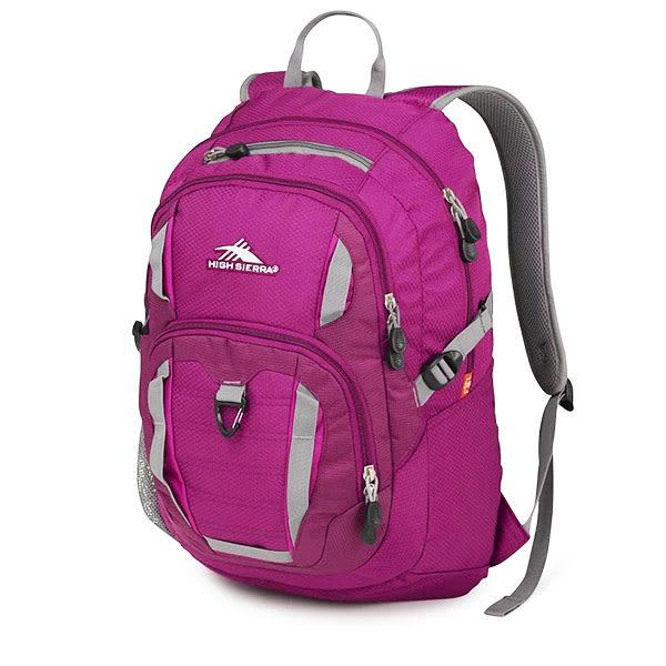 HIGH SIERRA Ryler Backpack 可收納17吋筆電後背包 -深紫-H04-ZV059[禾雅時尚]