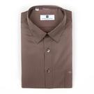 【南紡購物中心】【PIERRE BALMAIN 皮爾帕門】長袖襯衫-質感咖啡色條紋(F1)