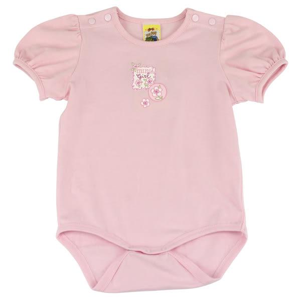 【愛的世界】彈性包屁連身衣/6M~2歲-台灣製- ★幼服推薦 超值特惠