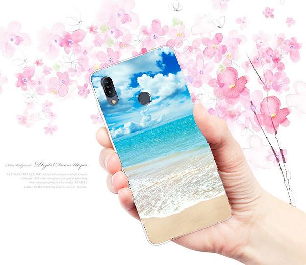 [ZB631KL 軟殼] ASUS ZenFone Max Pro (M2) X01BDA 手機殼 保護套 外殼 陽光沙灘
