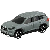 小禮堂 TOMICA多美小汽車 Toyota RAV4 休旅車 玩具車 模型車 (81 灰) 4904810-15841